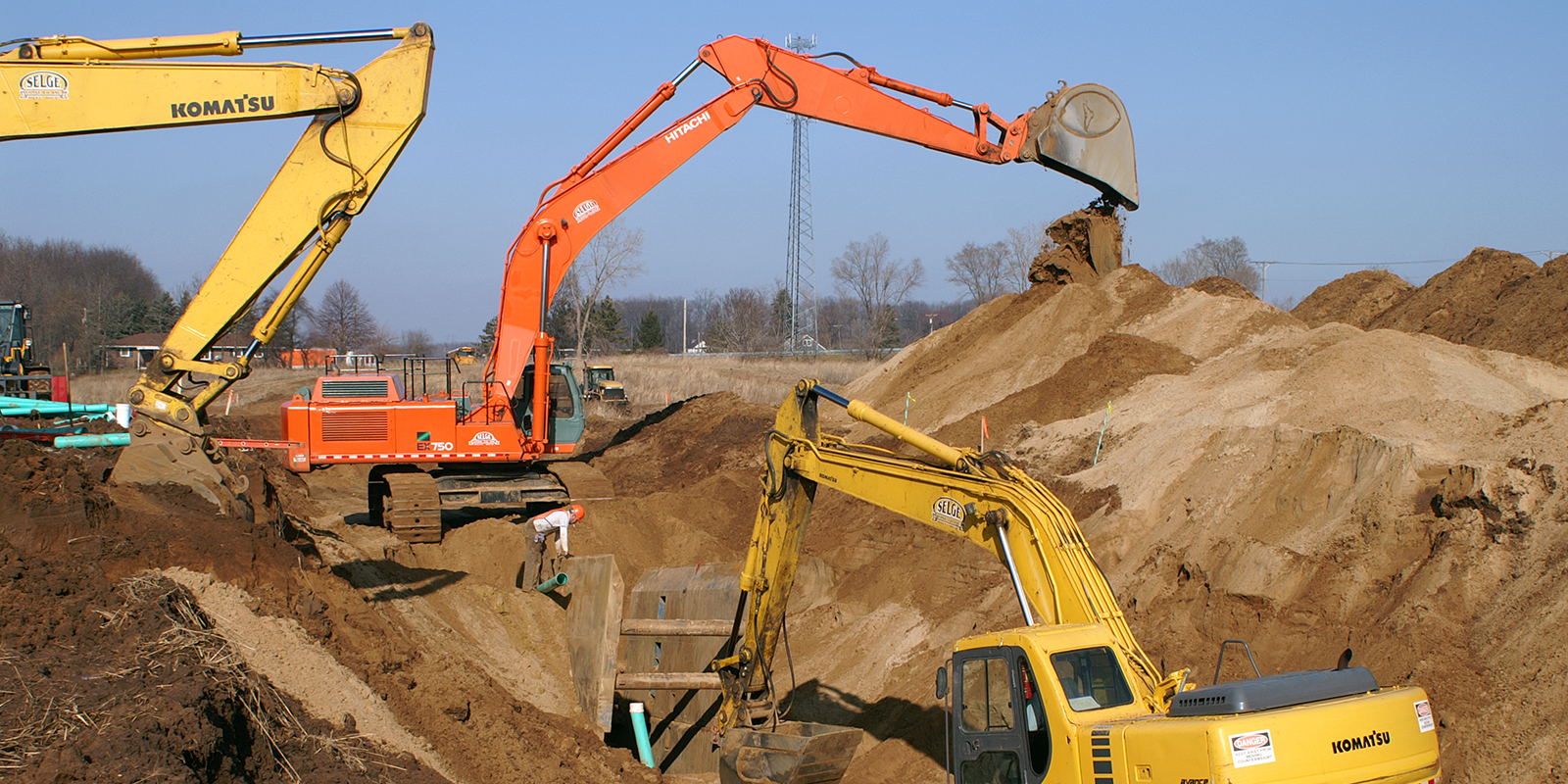 Selge Construction Company Earthmoving Midwest Civil